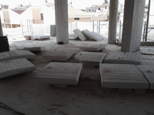 Taglio balconi tonde