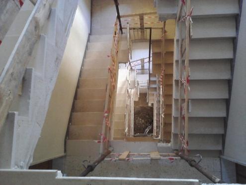 Taglio scale